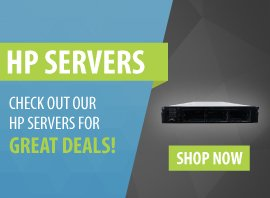 New & Refurbished HP Servers