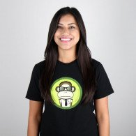 ServerMonkey T-shirt - Did you try turning it off and on again?