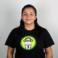 ServerMonkey T-shirt - Ask me about timestamped g-zipped tarballs!