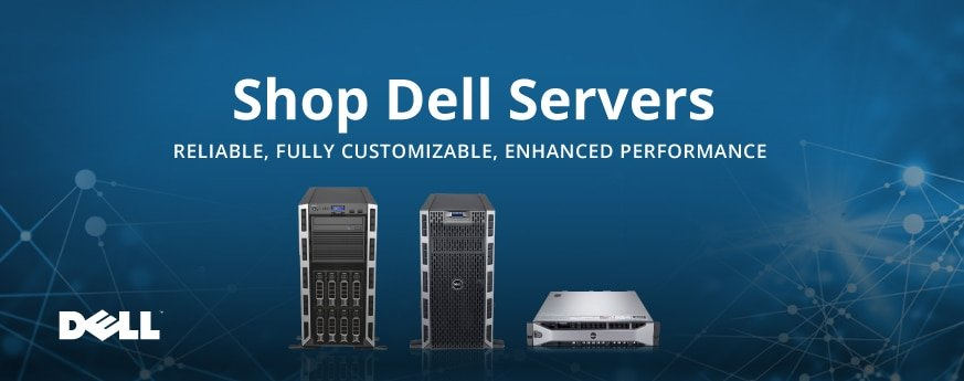 New and refurbished Dell servers