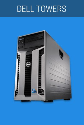 Dell Towers, refurbished tower server, refurbished tower servers